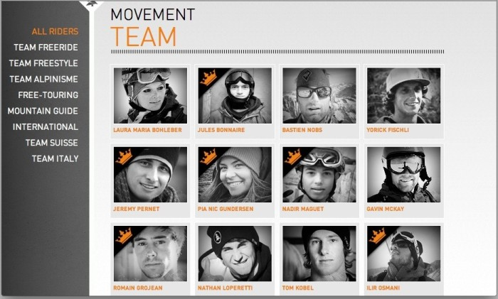 movement team